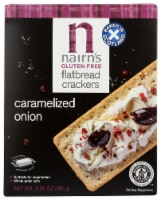 Nairn's Glute Free Caramelized Onion Flatbread Crackers - 5.29 oz