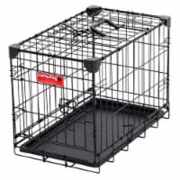 Lucky Dog 2 Door Dog Training Kennel w/ Leak Proof Removable Pan, Extra Small - 1 Unit