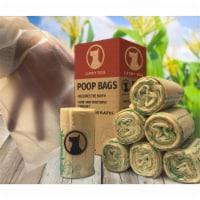 Lucky Dog PB2010-ZE008100 Zero Plastic Leakproof Poop Bags - 10 per Roll - 1