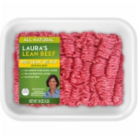 Laura's Lean Beef All Natural 92% Lean Ground Beef - 1 lb
