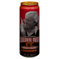 AriZona Jack Nicklaus Golden Bear Lemonade with Strawberry