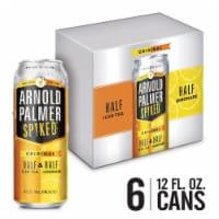 Arnold Palmer Spiked Half & Half Ice Tea Lemonade Flavored Malt Beverage 6 Cans