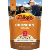Zukes ZK30003 9 oz Crunchy Naturals with Yogurt & Honey Dog Food - 1