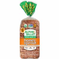 Alpine Valley Organic Honey Spout Bread