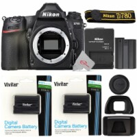 Nikon D780 Fx-format Dslr Camera Body With Two Pcs Xpdenel15 Replacement Battery
