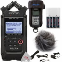 Zoom H4n Pro 4-input / 4-track Digital Recorder + Accessory Pack