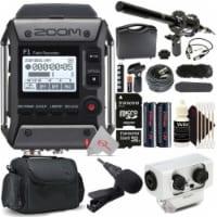Zoom F1-lp 2-input / 2-track Field Recorder With Mic + Shotgun Microphone Kit - 1