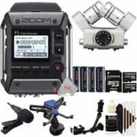 Zoom F1-lp 2-input 2-track Multitrack Recorder + Zoom Xyh-6 -x/y Mic Capsule Kit - 1