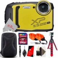 Fujifilm Finepix Xp140 Waterproof Digital Camera + Essential Accessory Kit - 1