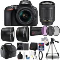 Nikon D5600 24.2mp Dslr Camera With 18-55mm Lens, Speedlight Flash And 16gb Kit - 1