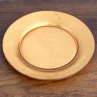 Red Pomegranate 0980-1 Gilt Premiere Gilded Salad Plate, Gold - 1
