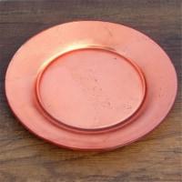 Red Pomegranate 4980-3 Gilt Premiere Salad Plates, Rose Gold - Set of 4 - 1