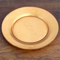 Red Pomegranate 4981-1 Gilt Premiere Gilded Dinner Plates, Gold - Set of 4 - 1