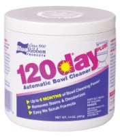 Blue Ribbon 120 Day Clean Scent Automatic Toilet Bowl Cleaner 14 oz. Powder - Case Of: 1 - Count of: 1