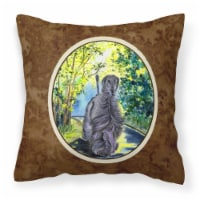 Carolines Treasures  SS8181PW1414 Afghan Hound Decorative   Canvas Fabric Pillow