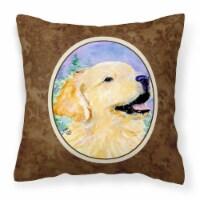 Carolines Treasures  SS8904PW1414 Golden Retriever Decorative   Canvas Fabric Pi