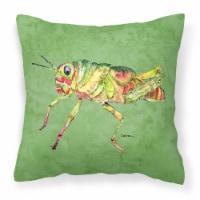 Carolines Treasures  8848PW1414 Grasshopper on Avacado   Canvas Fabric Decorativ