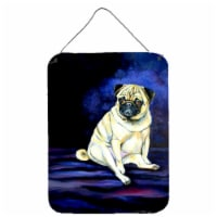 Pug Penny for your thoughts Aluminium Metal Wall or Door Hanging Prints