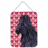 Briard Hearts Love and Valentine's Day Wall or Door Hanging Prints