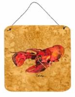 Carolines Treasures  8715DS66 Lobster Aluminium Metal Wall or Door Hanging Print - 6HX6W