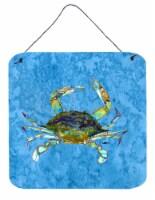 Carolines Treasures  8656DS66 Crab Aluminium Metal Wall or Door Hanging Prints