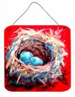 Bird Egg-Stra Speical Aluminium Metal Wall or Door Hanging Prints - 6HX6W