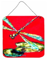 Insect - Dragonfly Shoo-Fly Aluminium Metal Wall or Door Hanging Prints - 6HX6W