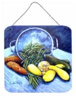 Vegetables Veg For All Aluminium Metal Wall or Door Hanging Prints - 6HX6W