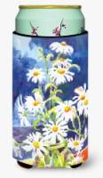 Flowers - Daisy  Tall Boy Beverage Insulator Beverage Insulator Hugger - Tall Boy