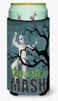 Monster Mash with Mummy Halloween  Tall Boy Beverage Insulator Beverage Insulato - Tall Boy