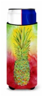 Carolines Treasures  8395MUK Pineapple Ultra Beverage Insulators for slim cans - Slim Can