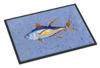 Carolines Treasures  8535JMAT Tuna Fish Indoor or Outdoor Mat 24x36