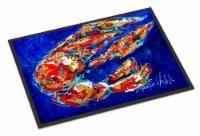 Carolines Treasures  MW1155JMAT Craw Momma Crawfish Indoor or Outdoor Mat 24x36 - 24Hx36W