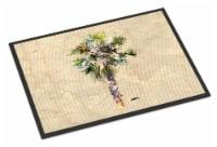 Carolines Treasures  8481MAT Palm Tree Indoor or Outdoor Mat 18x27