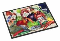 Carolines Treasures  8540MAT Louisana Spices Indoor or Outdoor Mat 18x27 - 18Hx27W