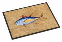 Carolines Treasures  8817MAT Tuna Fish Indoor or Outdoor Mat 18x27