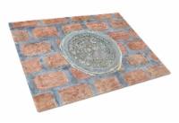 Carolines Treasures  8829LCB New Orleans Watermeter on Bricks Glass Cutting Boar - 12Hx15W