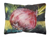 Vegetables - Onion One-Yun   Canvas Fabric Decorative Pillow