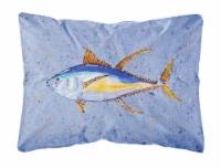 Carolines Treasures  8535PW1216 Tuna Fish   Canvas Fabric Decorative Pillow