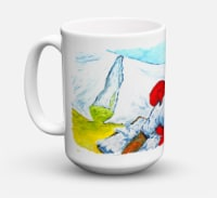 Must Be Monday Dishwasher Safe Microwavable Ceramic Coffee Mug 15 ounce