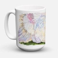Westie Dishwasher Safe Microwavable Ceramic Coffee Mug 15 ounce - 15 ounce