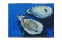 Carolines Treasures  MW1095PLMT Oysters Seafood Four Fabric Placemat - Large