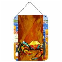 Caramel Coated Crab Wall or Door Hanging Prints
