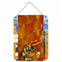 Caramel Corn Shrimp Wall or Door Hanging Prints - 16HX12W