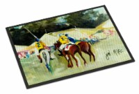 Carolines Treasures  JMK1006MAT Polo at the Point Indoor or Outdoor Mat 18x27
