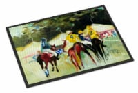 Carolines Treasures  JMK1007MAT Polo at the Point Indoor or Outdoor Mat 18x27 - 18Hx27W