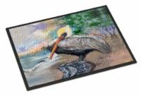 Carolines Treasures  JMK1019MAT Pelican Bay Indoor or Outdoor Mat 18x27 - 18Hx27W