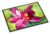 Carolines Treasures  JMK1120MAT Orchid Indoor or Outdoor Mat 18x27 - 18Hx27W