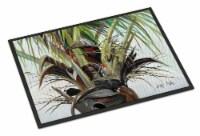 Carolines Treasures  JMK1130JMAT Top Palm Tree Indoor or Outdoor Mat 24x36 - 24Hx36W