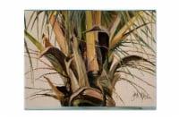 Carolines Treasures  JMK1131PLMT Top Coconut Tree Fabric Placemat - Large